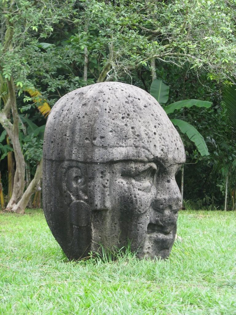 Olmec Art - Head - La Venta