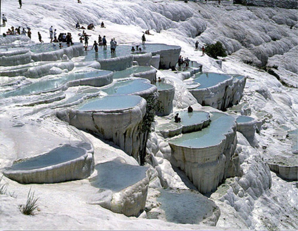 Pamukkale Turkey - Cotton Castle