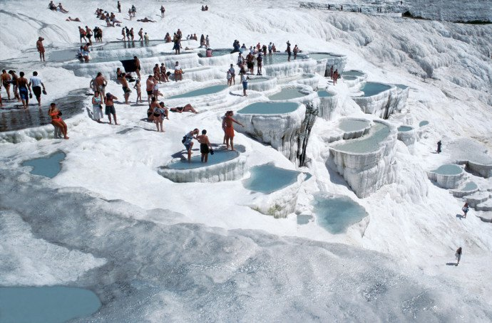 Pamukkale Turkey - Hot Springs
