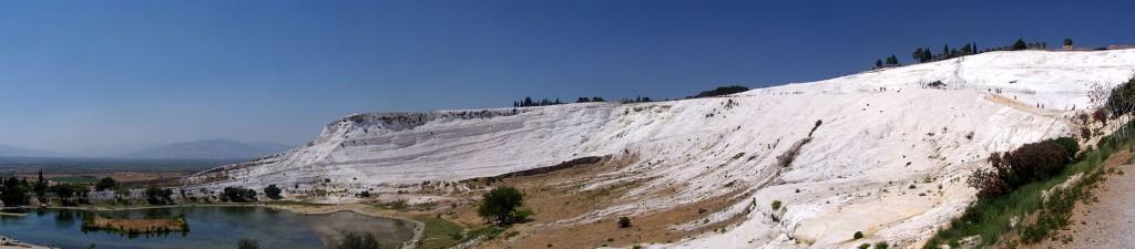 Pamukkale Turkey - Panorama