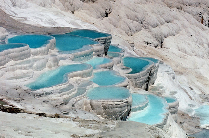 Pamukkale Turkey - Sacred Pools