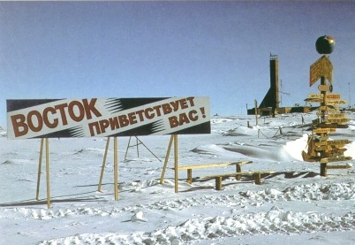 Coldest Place on earth Antarctica, Vostok Station