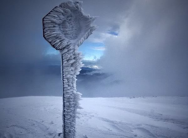 Frozen Things - Stop Sign - Russia