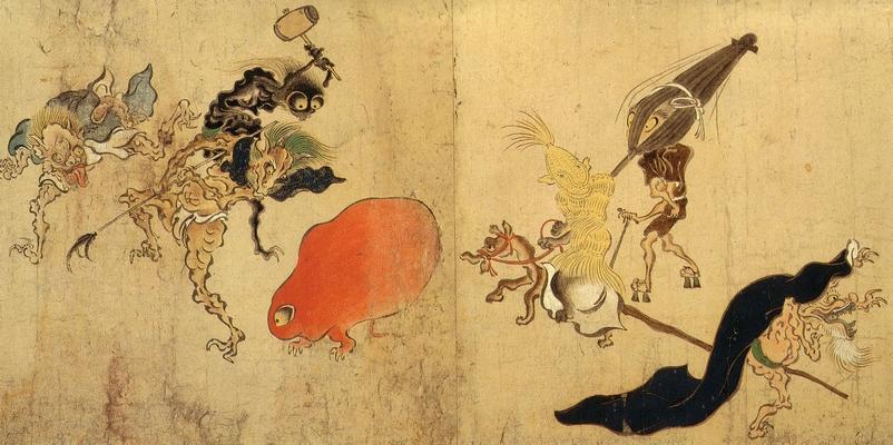 Hyakki Yagyo Emaki Artist unknown, Muromachi Period