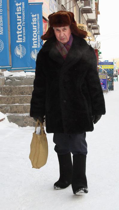Omsk - Cool Older People - Bear Hat
