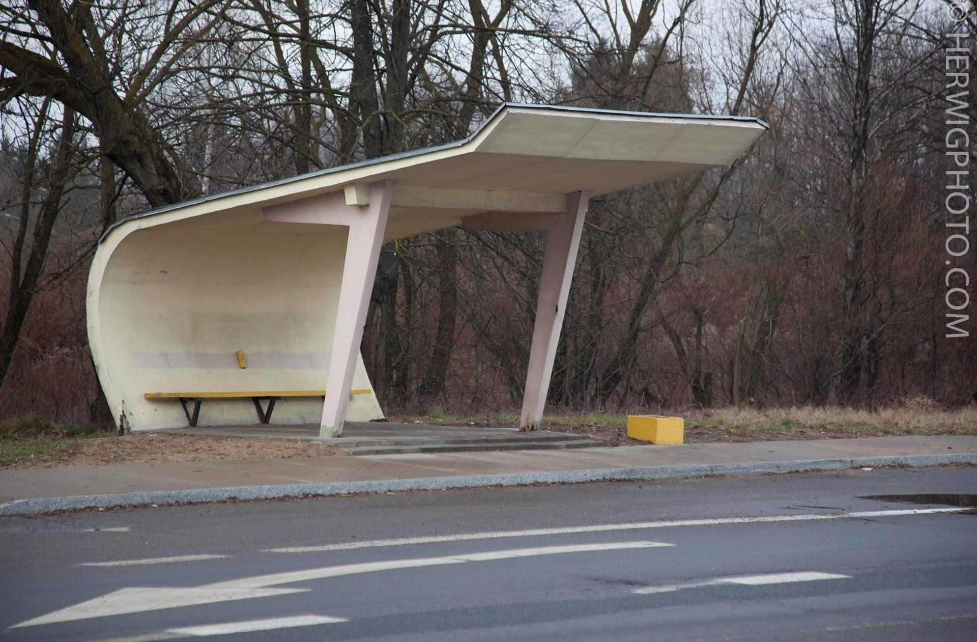 Soviet Bus Stops - Christopher Herwig - Kaunas, LITHUANIA
