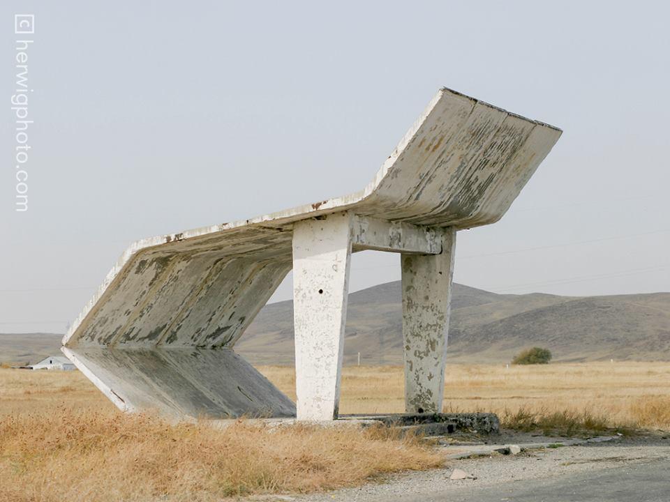 Soviet Bus Stops - Christopher Herwig - Taraz