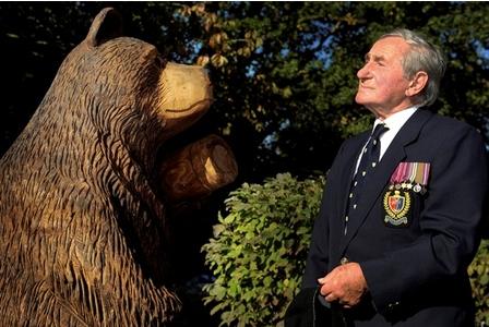 Wojtek Polish War Bear in Grimsby