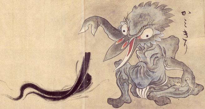 yōkai Kami-kiri