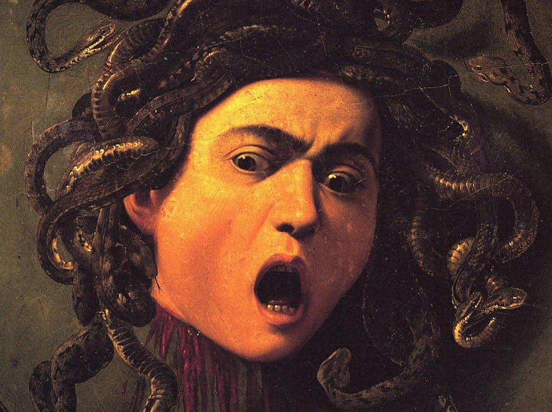 Best Baroque Painting - Caravaggio - Medusa