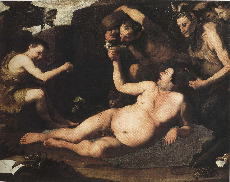 Best Baroque Painting - Jusepe de Ribera's Drunken Silenus, 1626