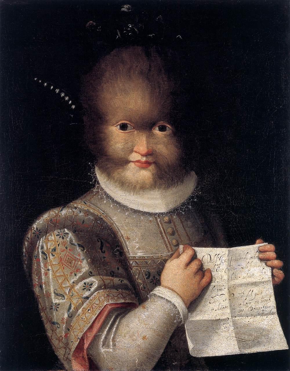 Best Baroque Painting - Lavinia Fontana's portrait of Antonietta Gonzalez
