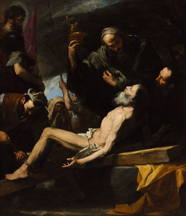 Best Baroque Painting - Martyrdom of St Andrew