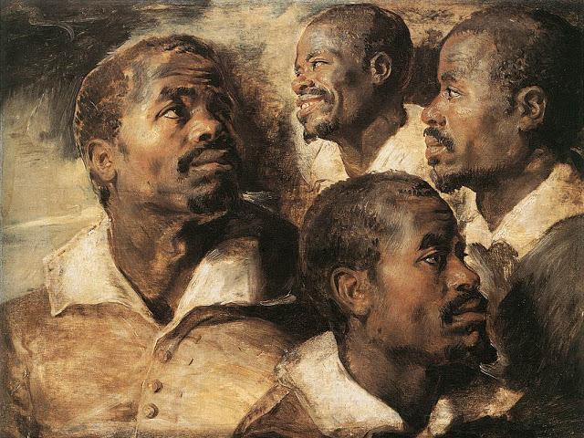 Best Baroque Painting - Peter Paul Rubens slave portrait
