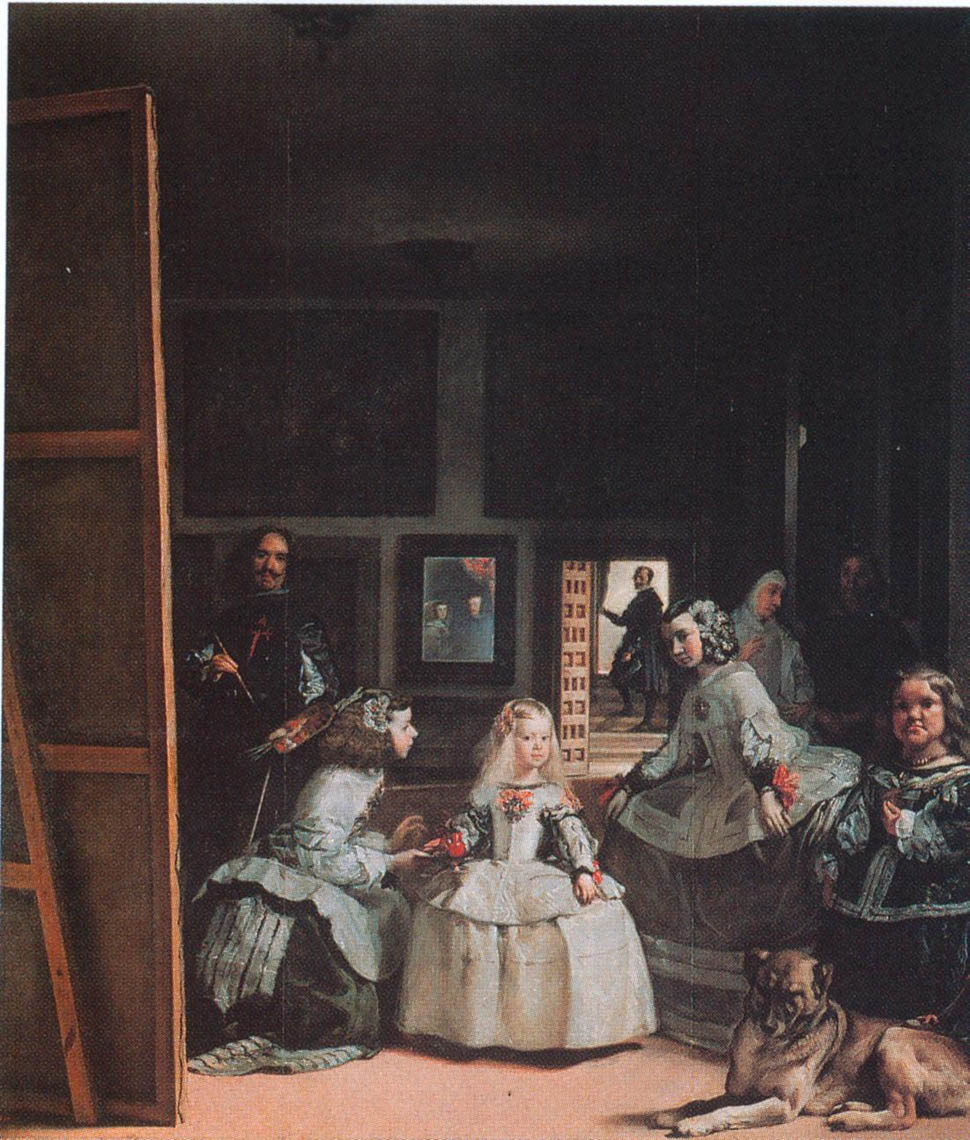 Best Baroque Painting - Velazquez. The Maids of Honor. Madrid. 1656
