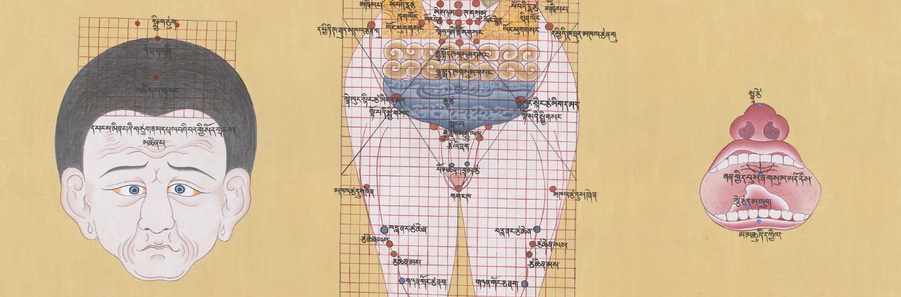 Blue Beryl - Tibetan science