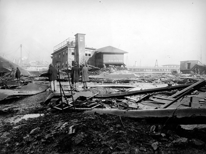 Boston Molasses Flood - aftermath 3