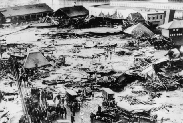 Boston Molasses Flood - aftermath