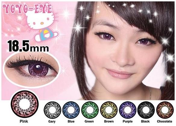 Buy Weird Stuff Japan - Hello-Kitty-Princess-Contact-Lenses-Color-Choices