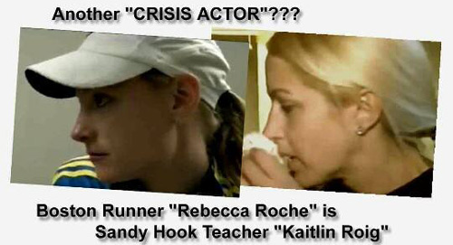 Crisis Actor - Fact Ficiton - Sandy Hook  - Rebecca Roche