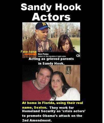 Crisis Actor - Fact Ficiton - Sandy Hook actors