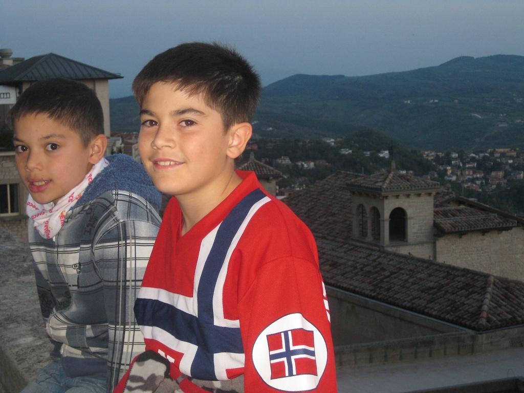 Atop San Marino!