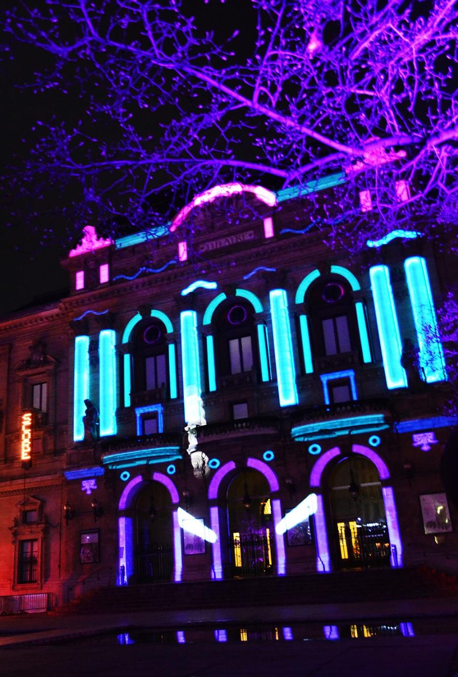 Lyon Festival Of Light - Town Hall