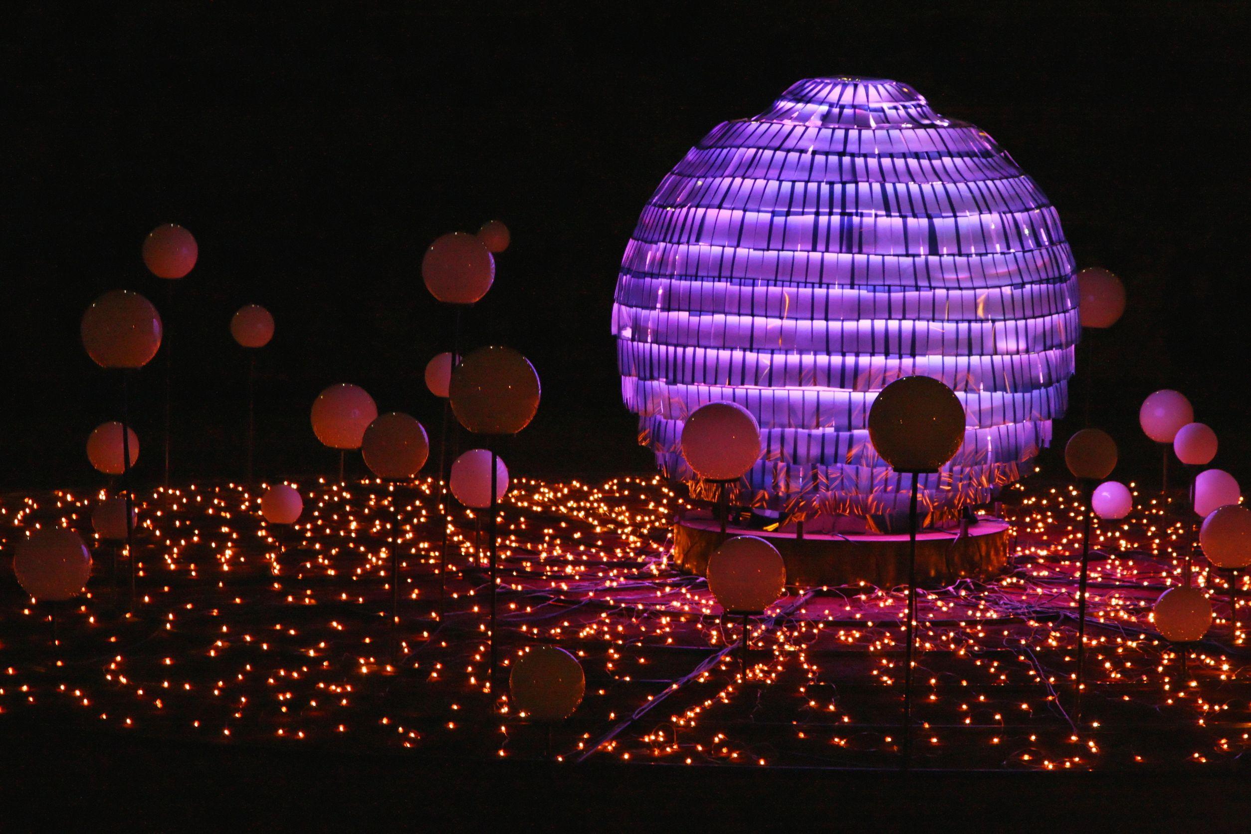 Lyon Festival Of Light - installation