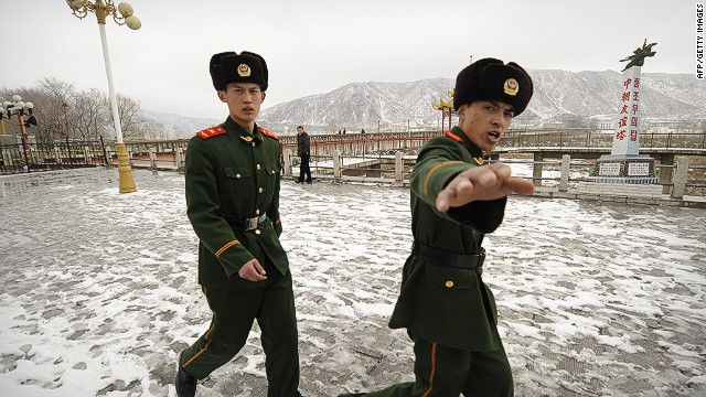 North Korea - Army Stops Shot