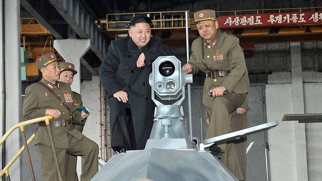 North Korea - Kim Jong un Chilling