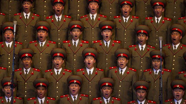 North Korea - Multi Yawn