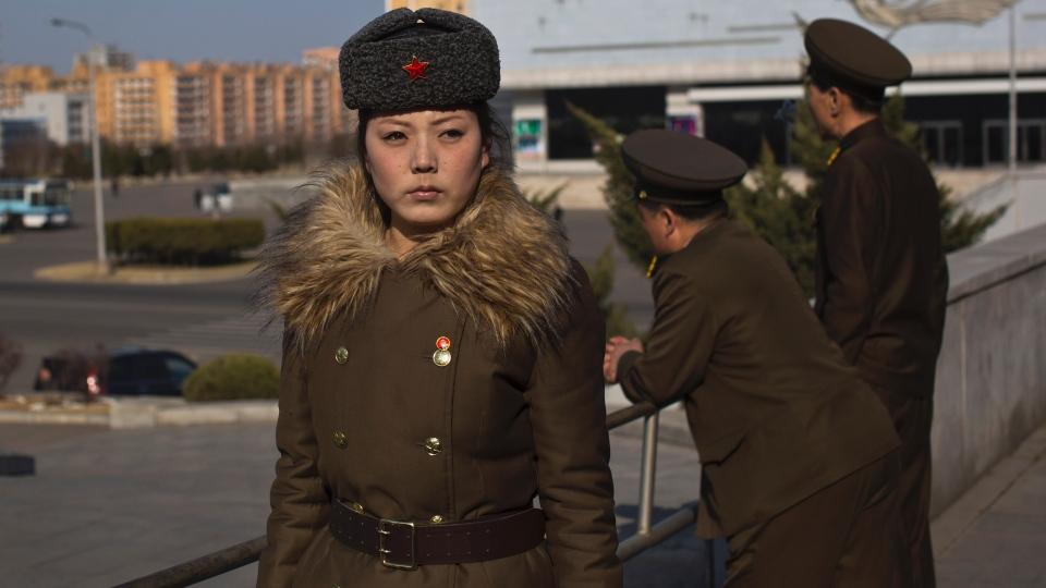 North Korea - Stern Soldier