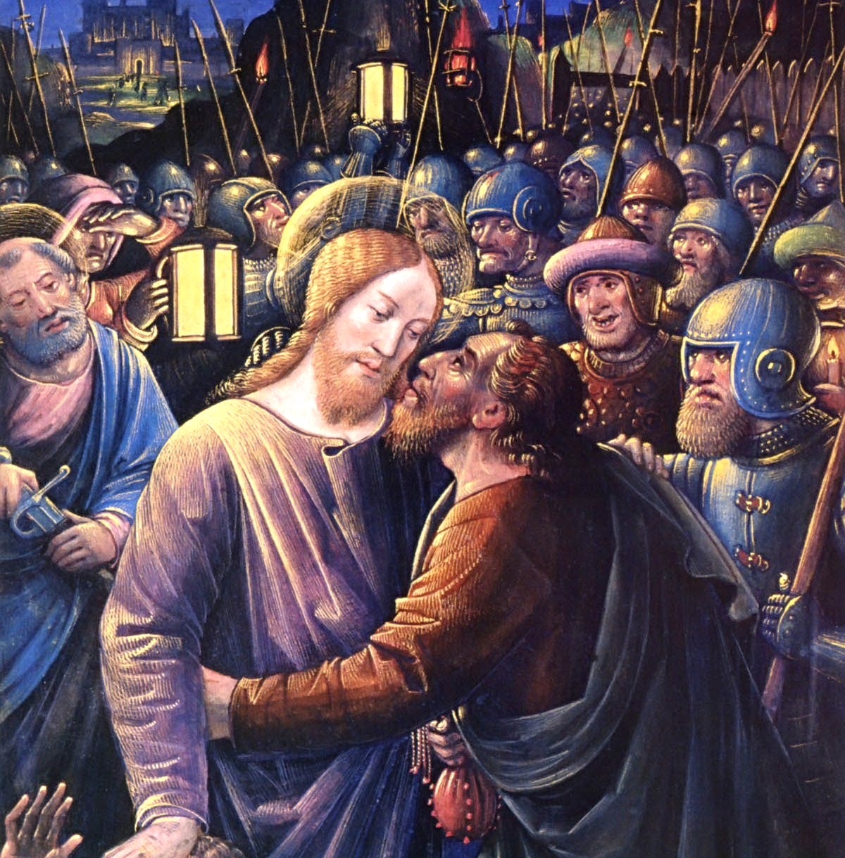The Kiss of Judas, Jean Bourdichon c. 1500