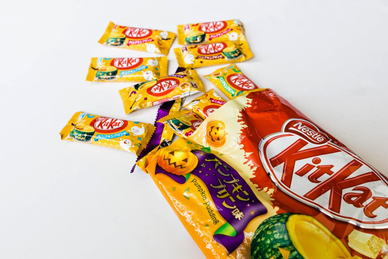 Kit Kat Flavours - Japan - Pumpkin