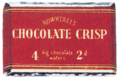 Kit Kat Flavours -UK - Rownree's Chocolate Crisp