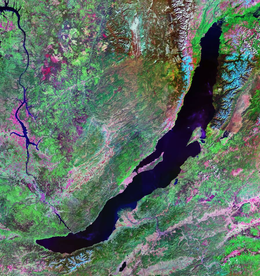 Lake Baikal - From Space