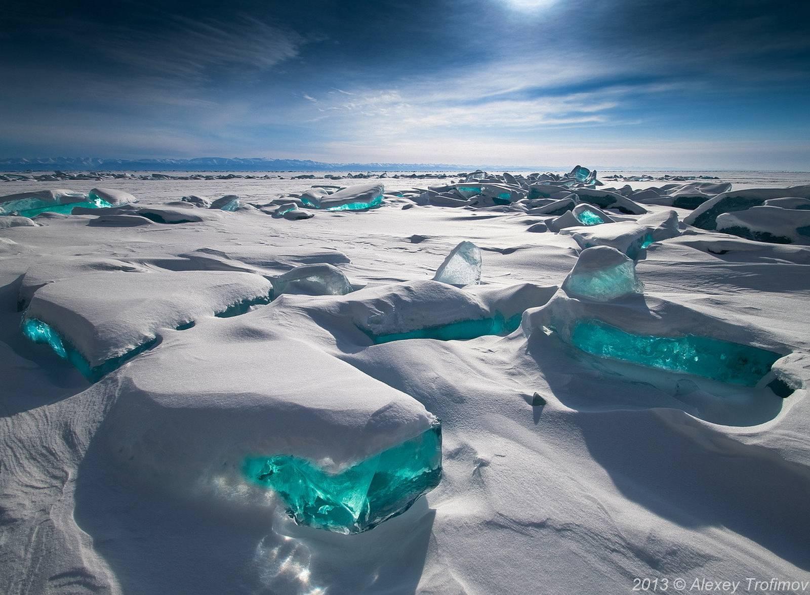 Lake Baikal - Frozen North Siberia