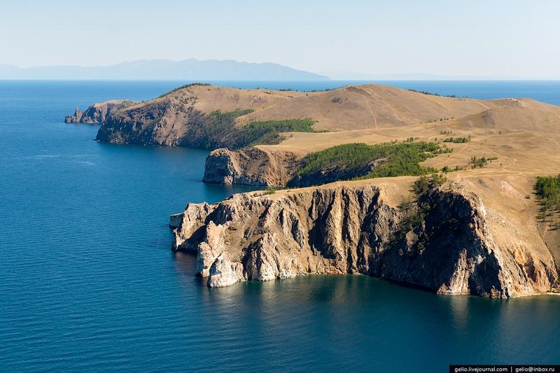 Lake Baikal - island