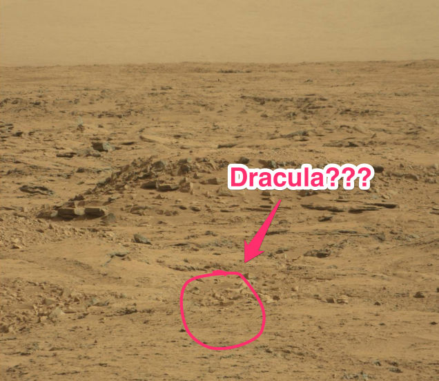 NASA Coffin Found On Mars - dracula