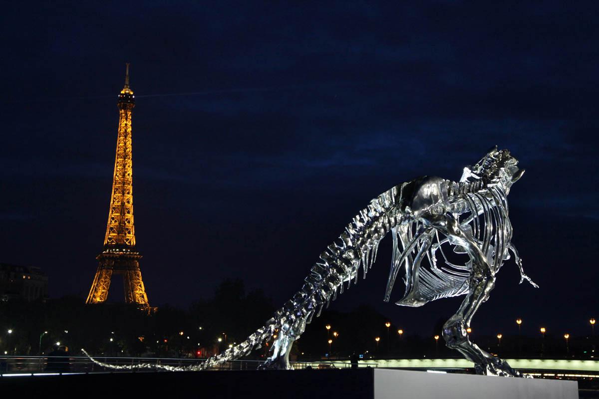 Philippe Pasqua Chrome T-Rex -At Night