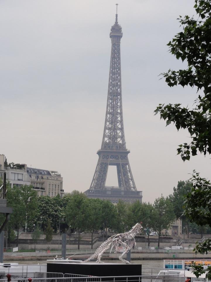 Philippe Pasqua Chrome T-Rex - Eiffel Tower 3