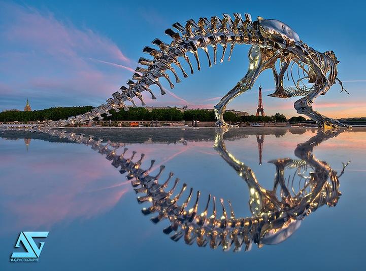 Philippe Pasqua Chrome T-Rex - metallic