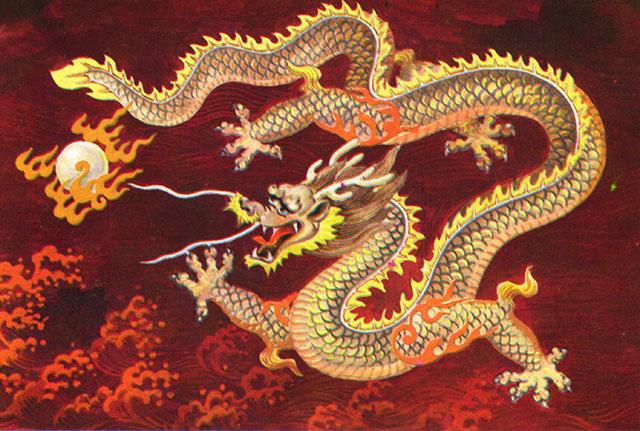 Qijianglong - chinese dragon