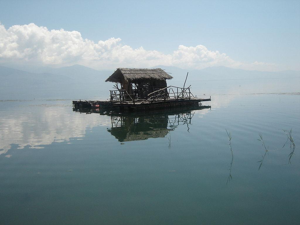 Albania - Lake Prespa - Fishermans Hut