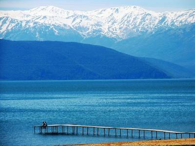 Albania - Lake Prespa - greece