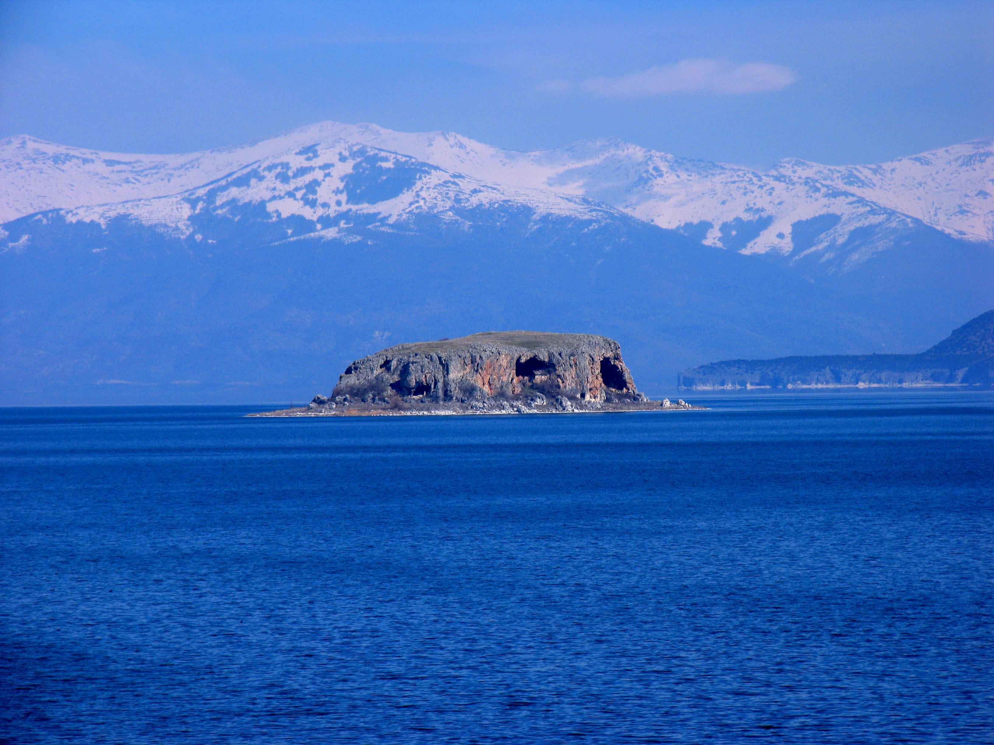 Albania - Lake Prespa - view