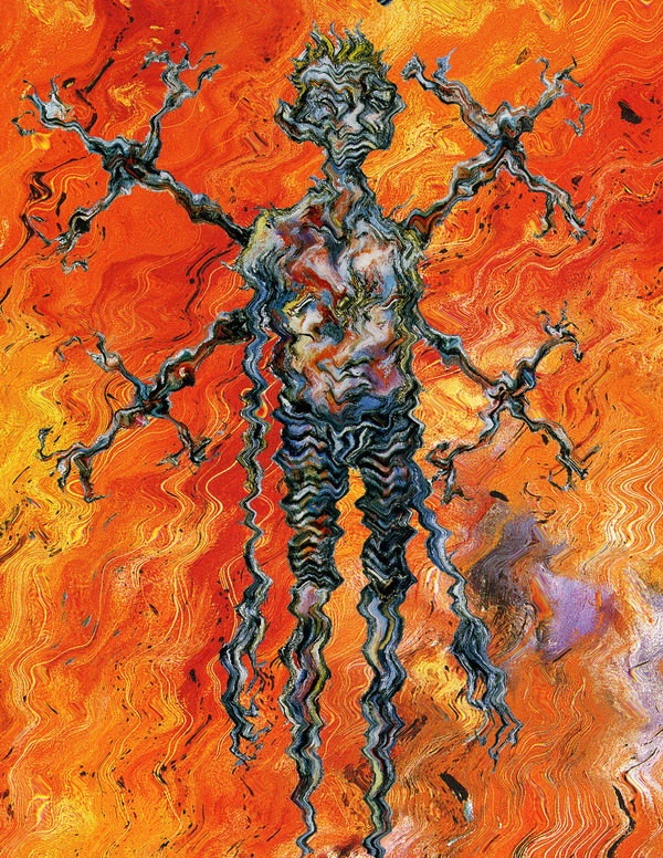Clive Barker - Paintings - Abarat Distortions