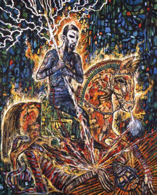 Clive Barker - Paintings - Apocalypse