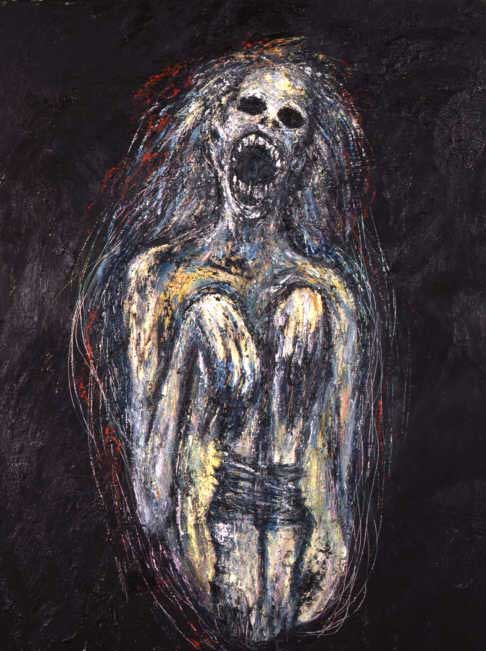 Clive Barker - Paintings - Deaths Womb