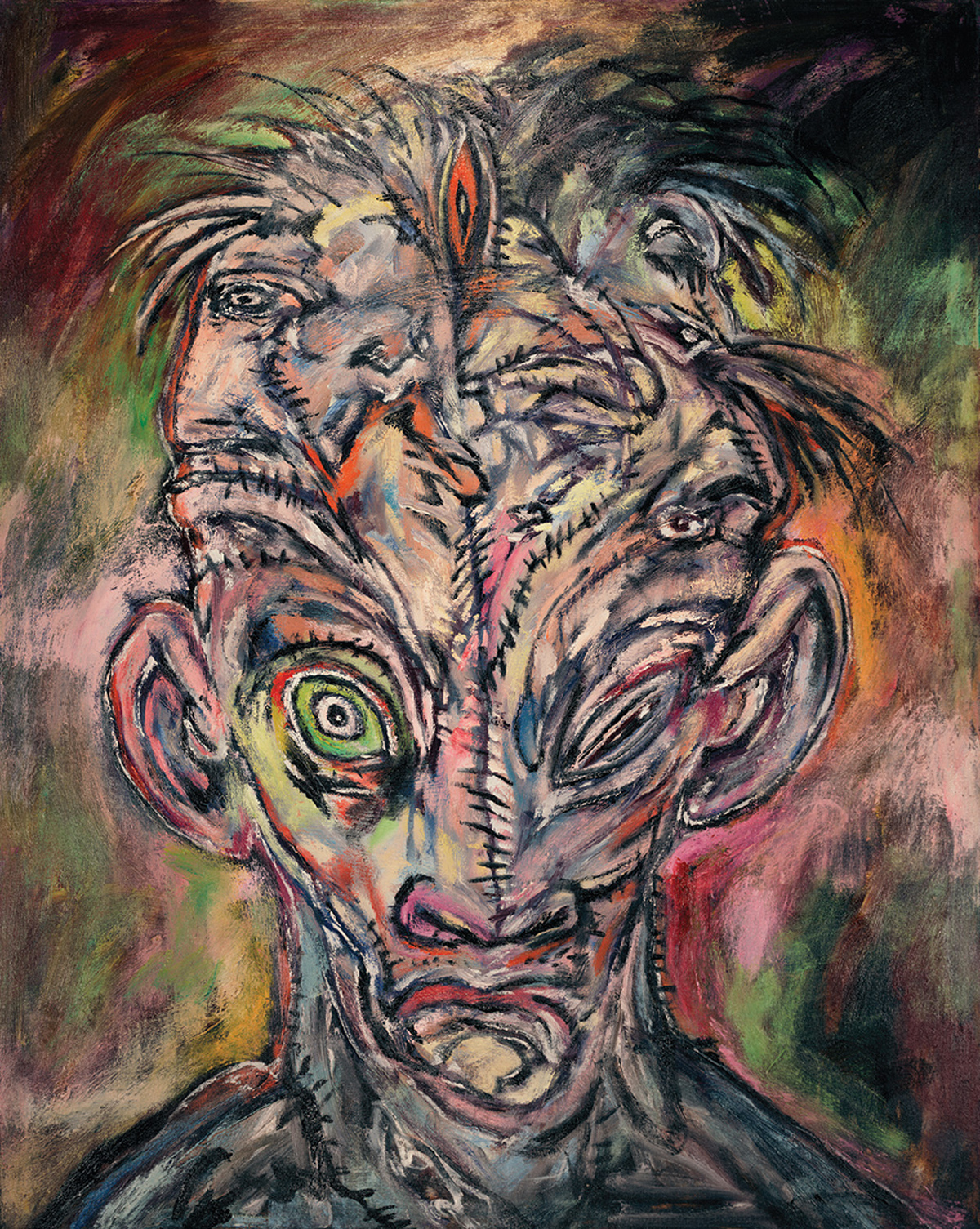Clive Barker - Paintings - Dissension